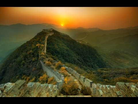 The New Garden Path Along the Great Wall of China