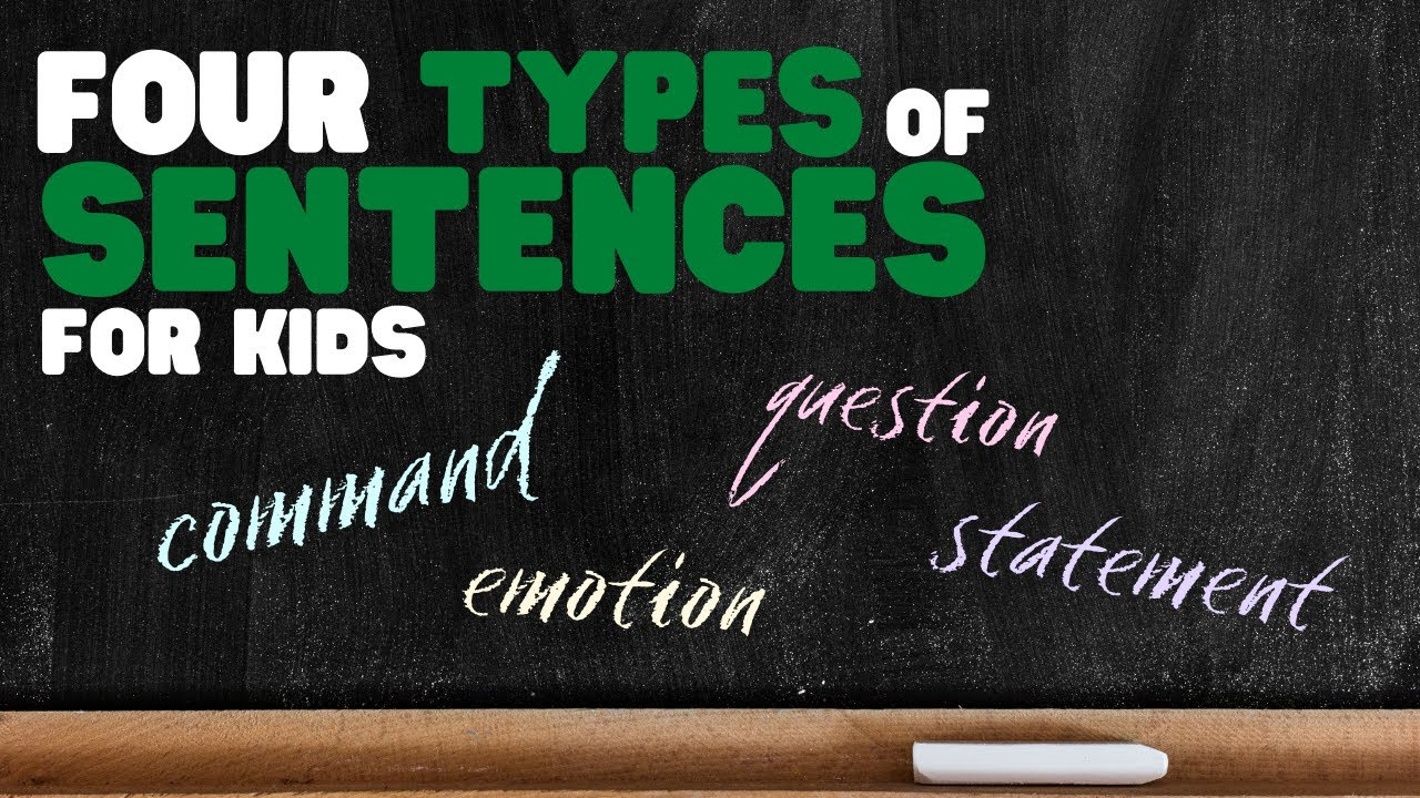 hight resolution of Four Types of Sentences   Learn about Statement