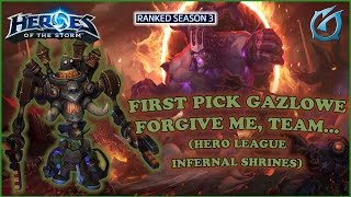 Grubby | Heroes of the Storm | Gazlowe - First Pick - Forgive Me Team - HL S3 - Infernal Shrines