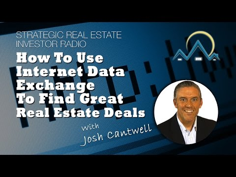 How To Use Internet Data Exchange To Find Great Real Estate Deals