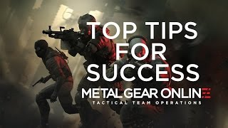 Metal Gear Online:  Top Tips For Success