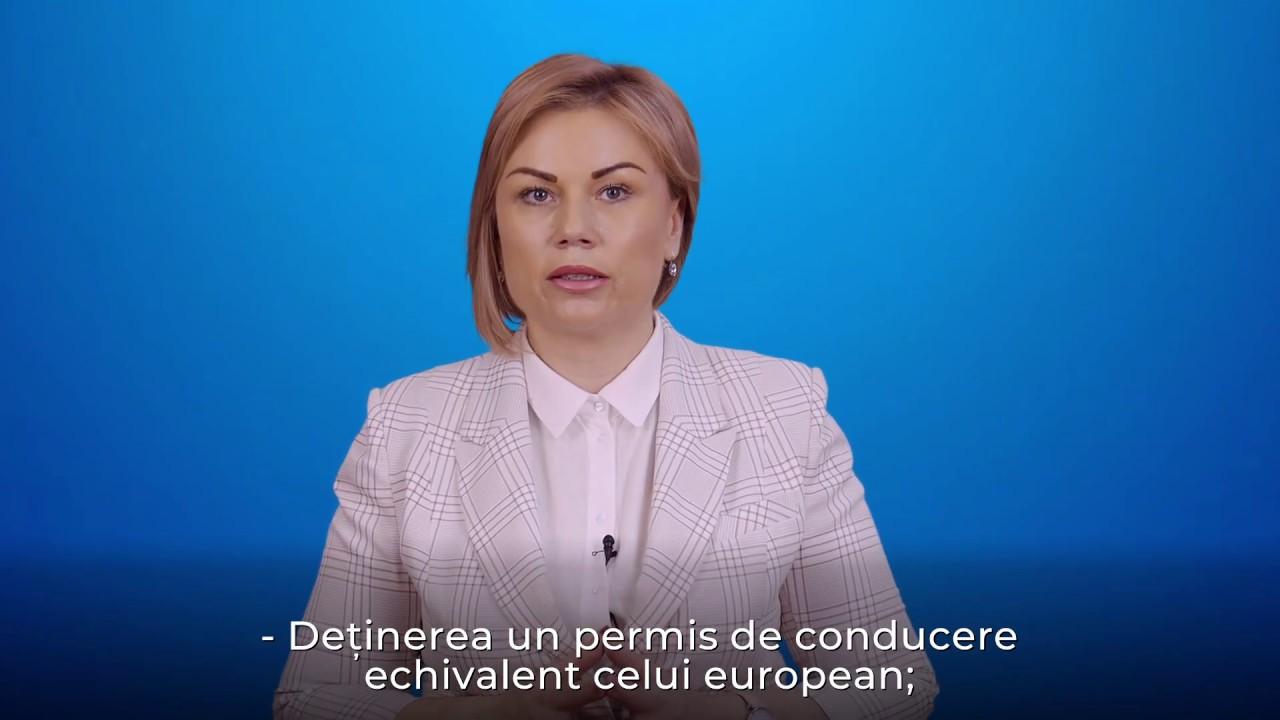Permis de conducere Românesc