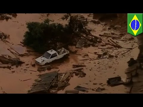 Dam Burst Spills Toxic Mud Into Brazilian Town, Killing 17 - TomoNews
