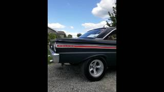 65 ford falcon 5.0 duel cherry bombs