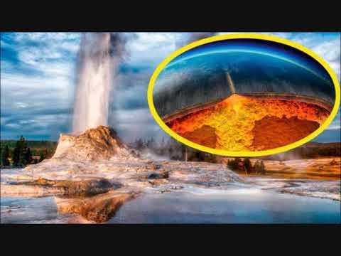 Sube el magma bajo el Yellowstone