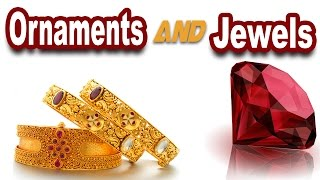 Ornaments & Jewels With Pictures -kids vocabulary - jewels - jewels n gems