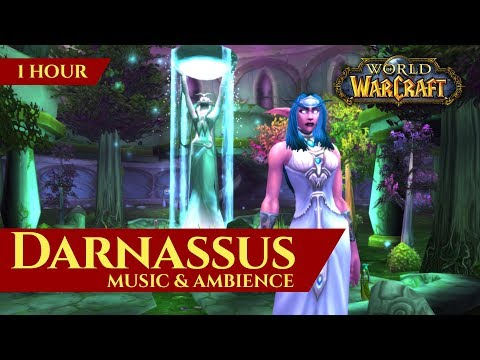 Vanilla Darnassus - Music & Ambience  (1 hour, World of Warcraft Classic)