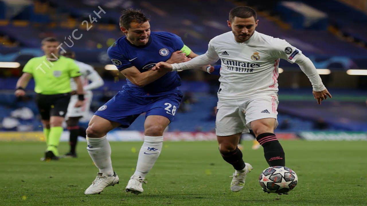 Kết quả bóng đá Cúp C1 đêm qua rạng sáng nay Chelsea vs Real Madrid:  Đỉnh cao chiến thuật