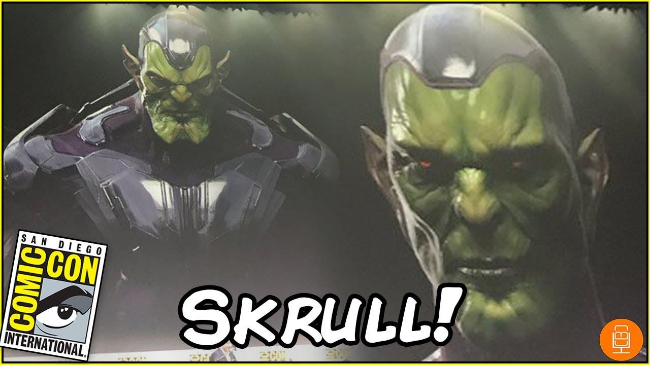 captain marvel skrull
