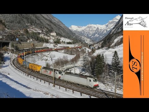 Through the Alps - wintertime