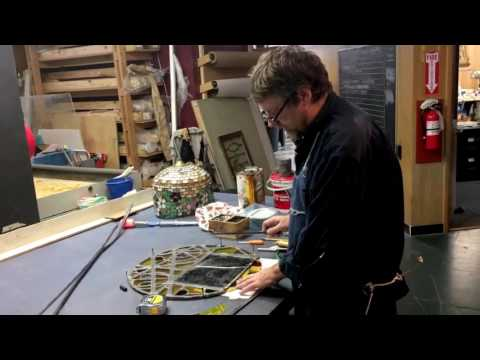 Ben Parsons, cofounder of Azure Stained Glass Studio, talks about his craft: Part 1