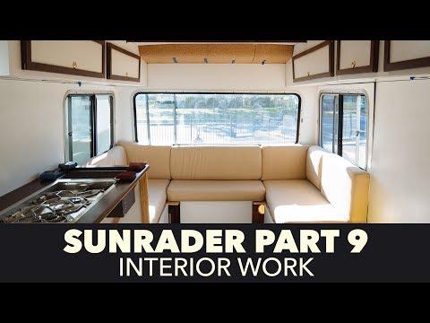 Toyota Sunrader 4x4 Build Part 9 - Interior Work