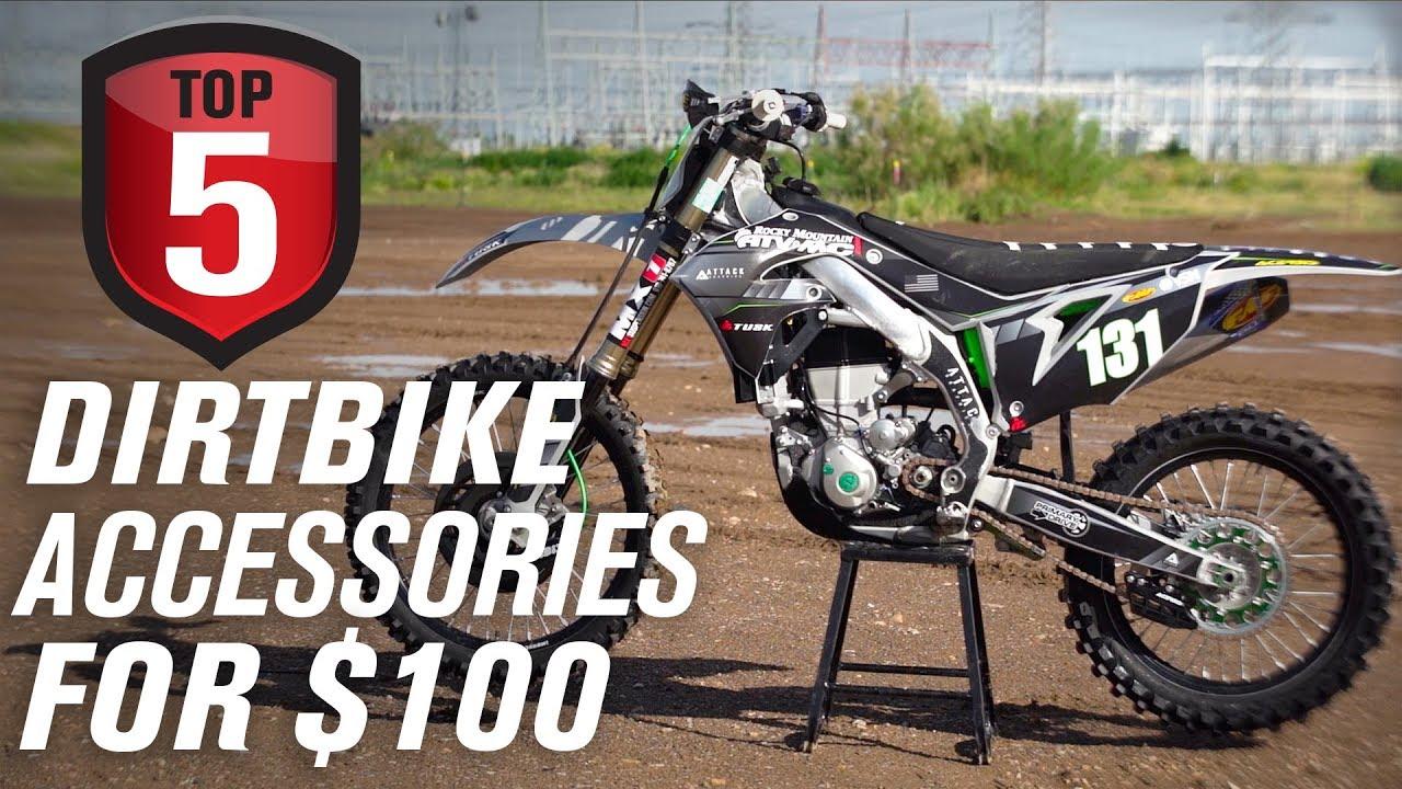 Top 5 Dirt Bike Accessories Under 100 Youtube