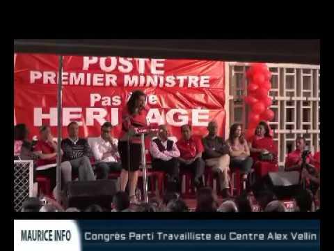 Congrès Parti Travailliste à Beau Bassin