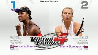 Virtua Tennis 4 - Venus Williams vs Maria Sharapova