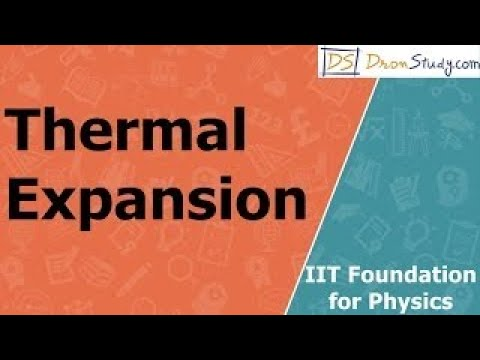 Thermal Expansion for IIT Foundation Basic Physics Video Lecture in Hindi