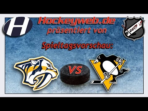 NHL-Vorschau: Pittsburgh Penguins vs Nashville Predators | Hockeyweb.de
