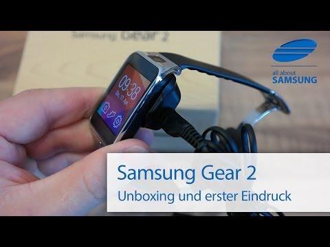 Samsung Gear 2 Unboxing Lieferumfang und erster Eindruck deutsch HD