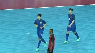 ฟุตซอลทีมชาติไทย 14 – 0 ทีมชาติติมอร์-เลสเต ฟุตซอลอาเซียน 2018ที่อินโดนีเซีย