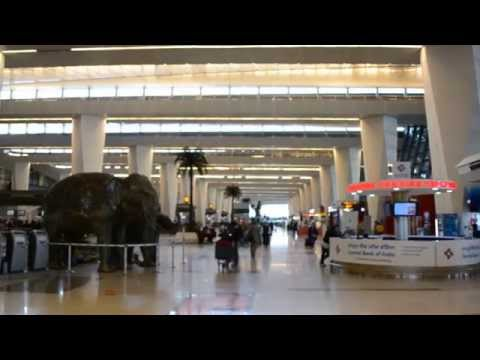Inside Indira Gandhi International Airport,Terminal 3, Delhi, India