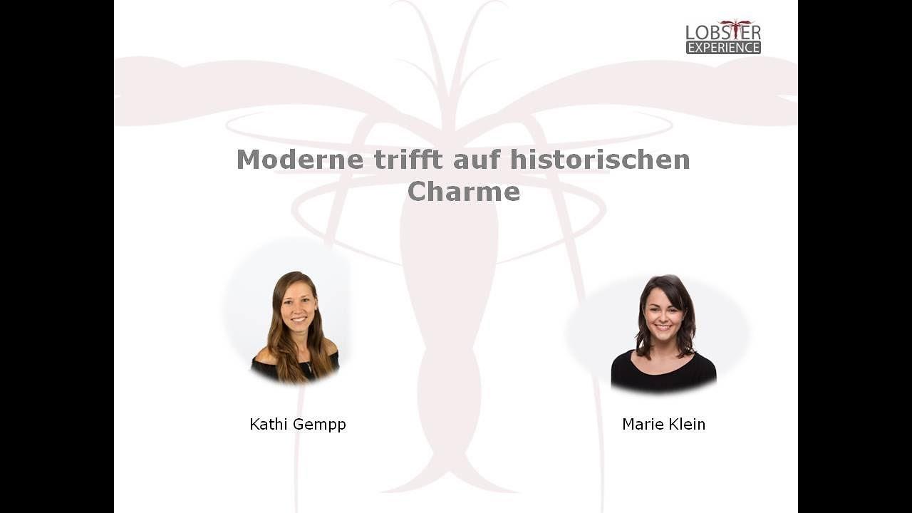 Moderne trifft auf historischen Charme