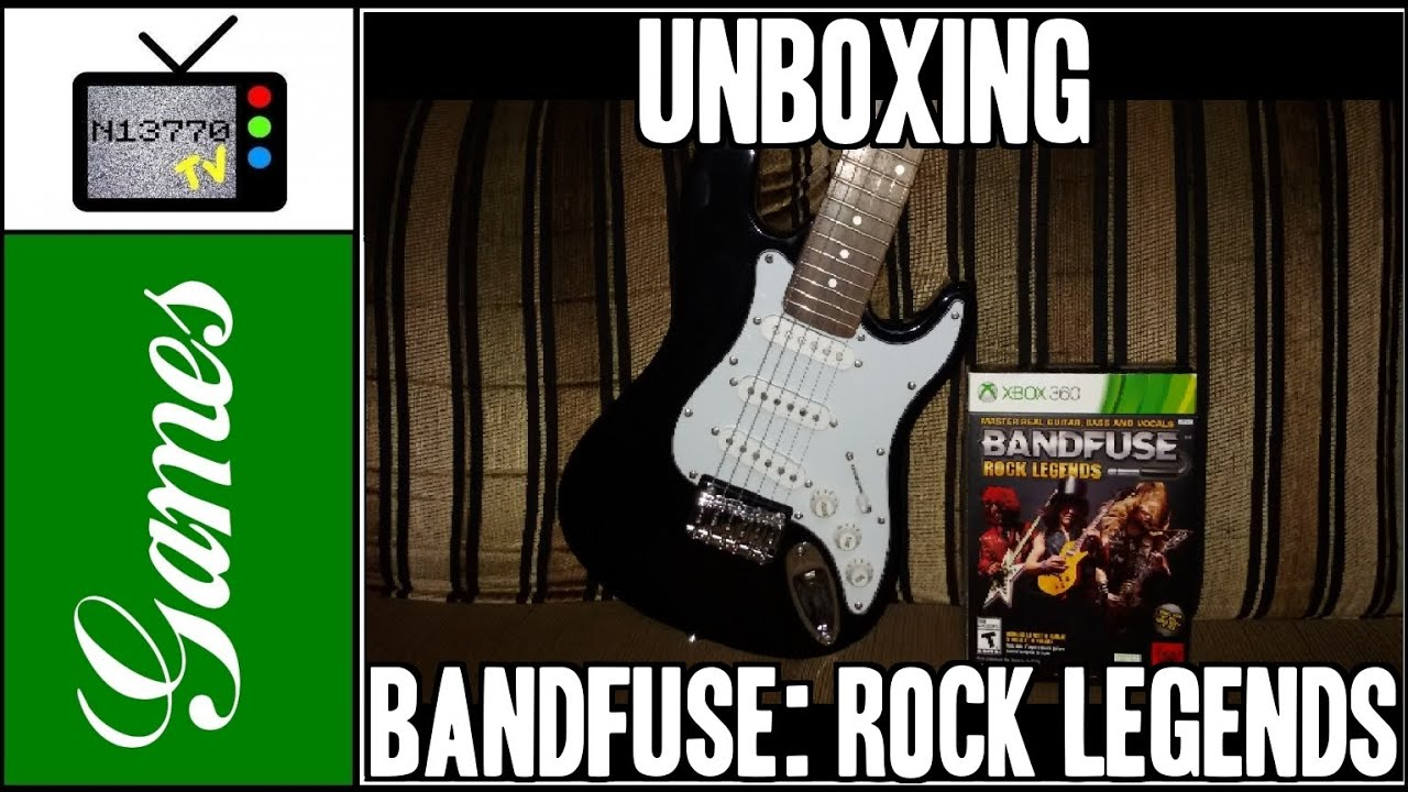 bandfuse rock legends (artist pack) para x360 unboxing nietto tv games BandFuse Audio Adapter