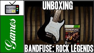 BANDFUSE: ROCK LEGENDS (ARTIST PACK) PARA X360 - UNBOXING - NIETTO TV GAMES