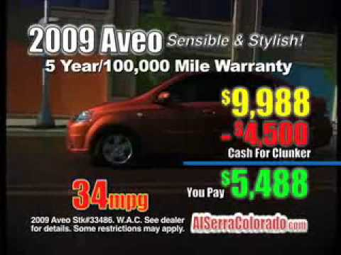 Al Serra Chevrolet Volkswagen Used Colorado Springs Cash For Clunkers 2