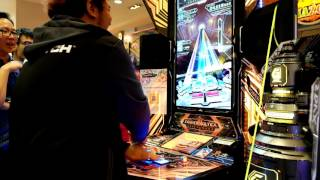SOUND VOLTEX III GRAVITY WARS DAY 01 Location Test (Indonesia) - Brain Power EXH 15 Gameplay by JOZ