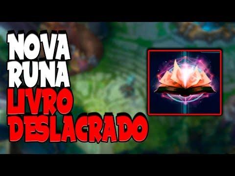 NOVA RUNA LIVRO DESLACRADO - League of Legends Patch 8.9 thumbnail