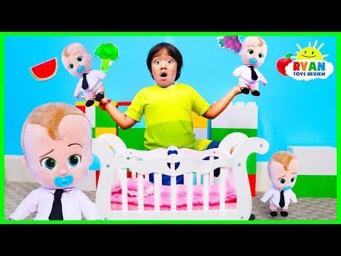Boss Baby Escape The Babysitter Ryan!!!!