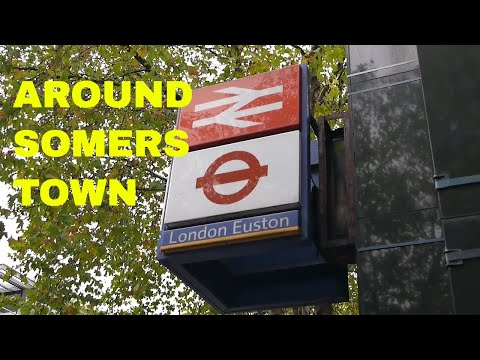 Exploring Somers Town and Drummond Street around Euston and St. Pancras