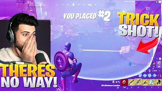The Unluckiest Moment of my Fortnite Career.. (he trickshot me)
