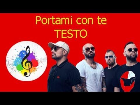 Boomdabash-Portami con te (testo in italiano)