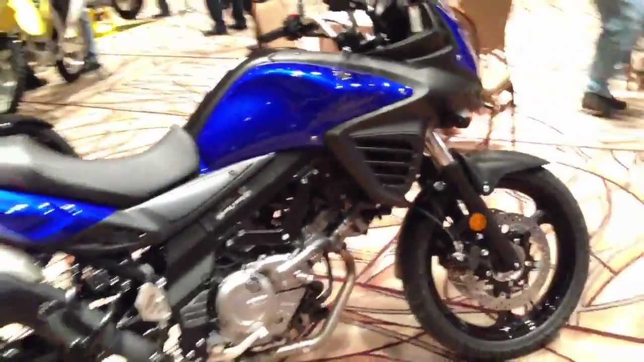 2013 Suzuki V Strom 650 Abs In Blue Youtube