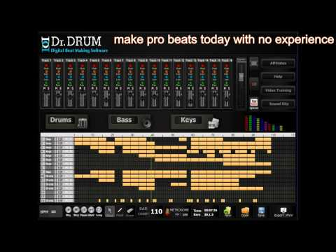 Dr Drum how to make professional music beat's