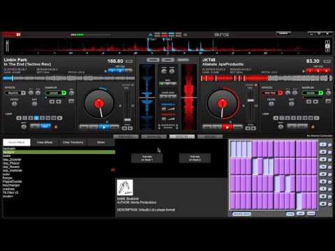 Virtual DJ mix JKT48 Aitakatta remix dubstep looping version 2