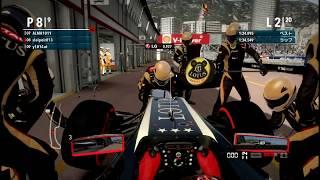 PS3 F1_2012 F3Aクラス シーズン2 Rd.1 モナコGP(すれいぷにる視点)