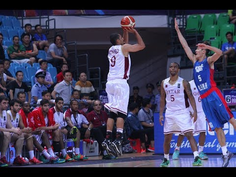 Mizo Amin - FIBA - Asian Championship Qatar vs Chinese Taipei  Offensive Highlights (2015)