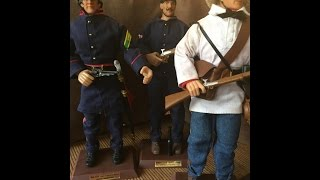 "Soldiers of the World 12"" Civil War Action Figures"