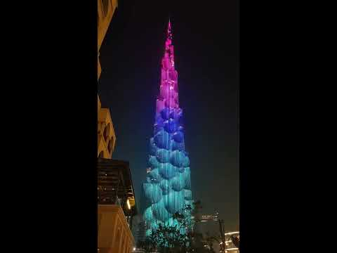 Burj Khalifa Multimedia Show 2019 – Dubai
