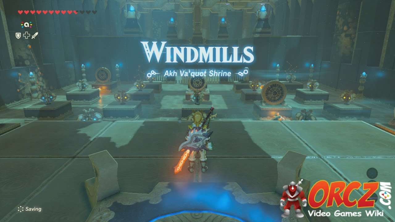 Legend Of Zelda Breath Of The Wild Shrine Akh Va Quot Windmills Trial Gameplay Walkthrough Youtube Right away, head up the stairs to a hidden room. youtube