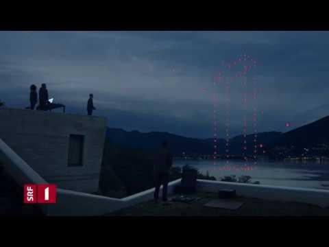 SRF 1 Idents Drohne // theblackdrone GmbH