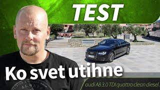 2015 audi A8 3.0 TDI quattro clean diesel - test