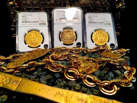 AUTHENTIC SHIPWRECK TREASURE PIRATE GOLD COINS