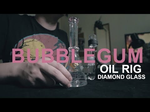 Diamond Glass Bubbler $50 | Our New Oil Rig | Glass Education