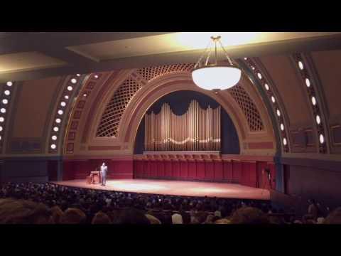 Abdu Murray Speaks at the University of Michigan