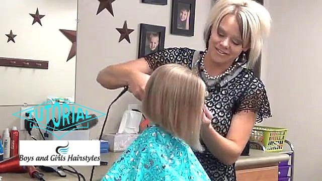 Slight A-Line Haircut and Hairstyle - YouTube