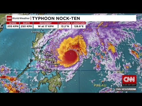 Phlippines braces for severe typhoon