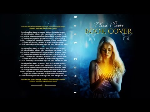 Photoshop Tutorials - Book cover Fantasy  : Full Tutorial